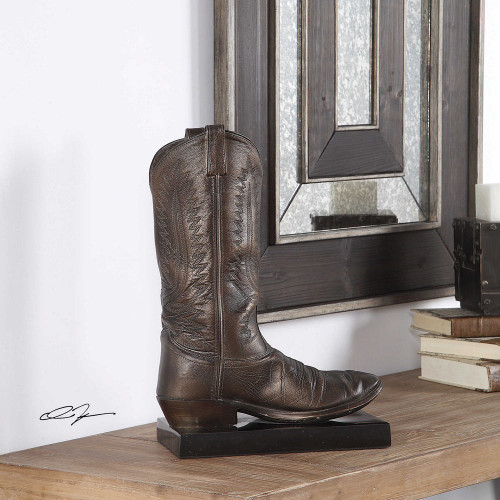 Boot Sculpture by Uttermost