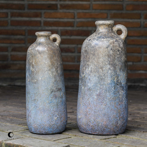 Ragini Vases S/2 by Uttermost