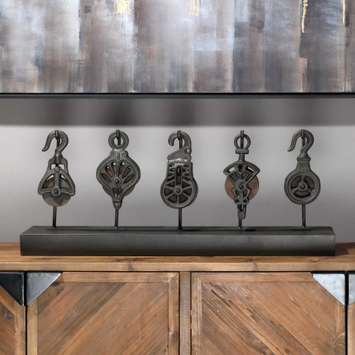 Pulley System by Uttermost