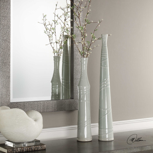 Raylee Vases S/2 by Uttermost
