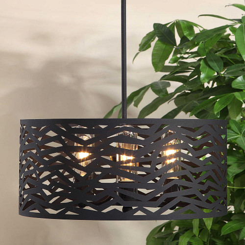 Cypress 3 Lt. Outdoor Pendant by Uttermost