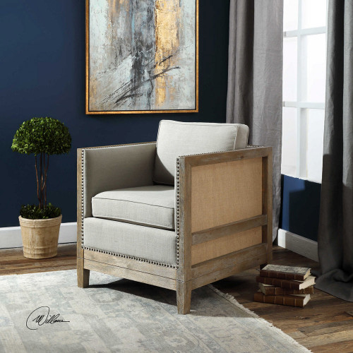 Kyle Accent Chair by Uttermost