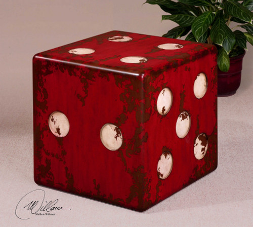 Dice Accent Table by Uttermost