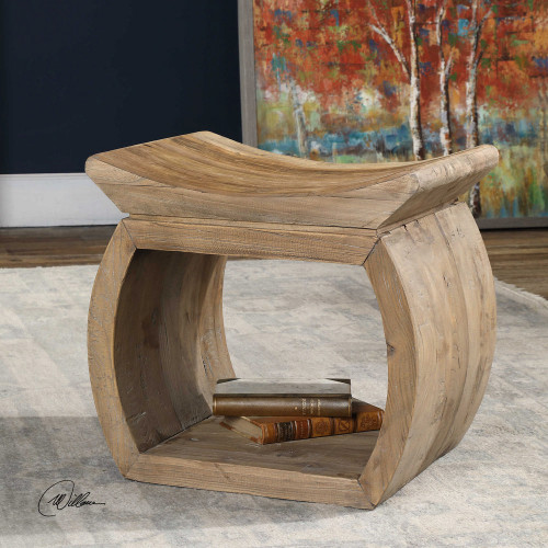 Connor Accent Stool by Uttermost
