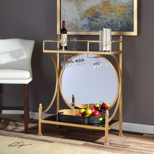 Presley Bar Console by Uttermost