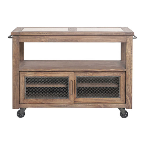 Wallace Kitchen Island by Uttermost