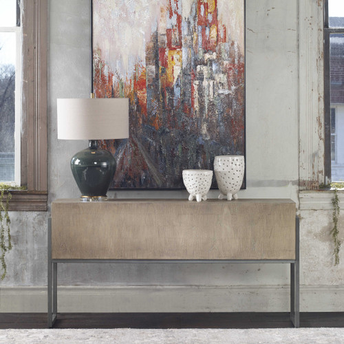Nevis Sofa Table by Uttermost