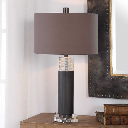 Ryne Bronze Table Lamp by Uttermost