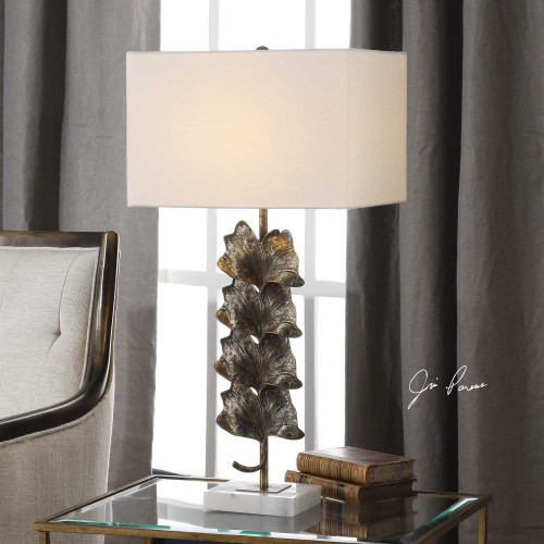 Ginkgo Table Lamp by Uttermost