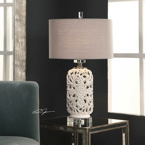 Dahlina Table Lamp by Uttermost