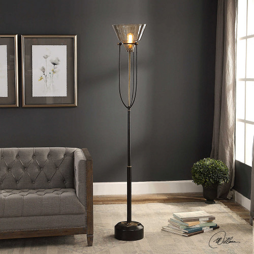 Amaleeda Floor Lamp by Uttermost
