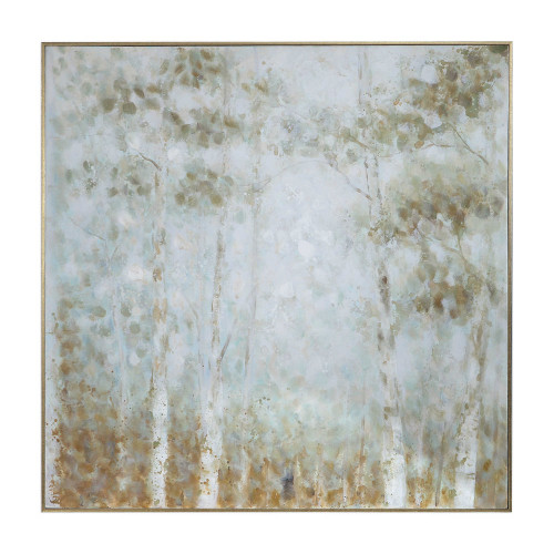 Cotton Woods Hand Painted Canvas by Uttermost