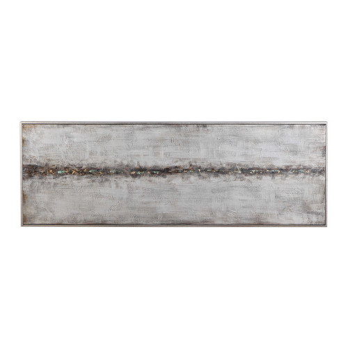 Cracked Sidewalk Hand Painted Canvas by Uttermost