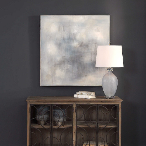 Foggy Hand Painted Canvas by Uttermost