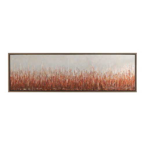 Burning Fields Hand Painted Canvas by Uttermost