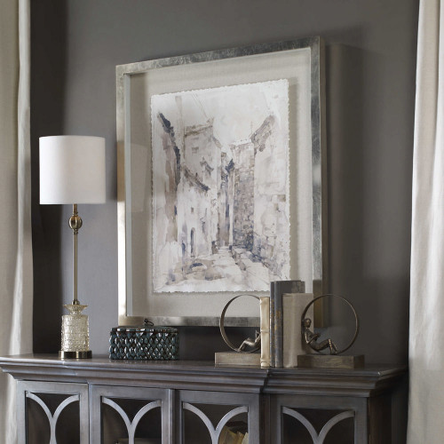 Alley Framed Print by Uttermost