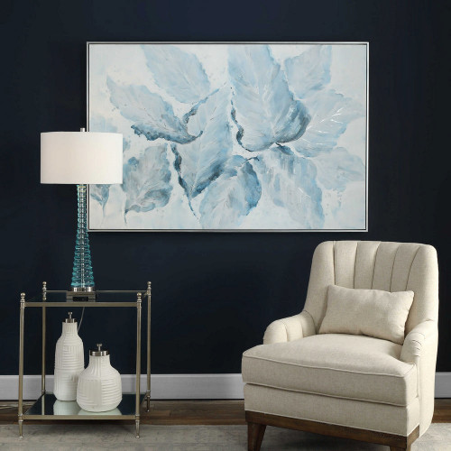 Blue Belle Hand Painted Canvas by Uttermost