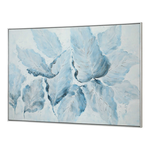 Blue Belle Hand Painted Canvas
