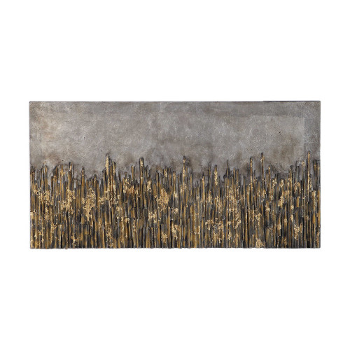 Golden Fields Hand Painted Canvas by Uttermost