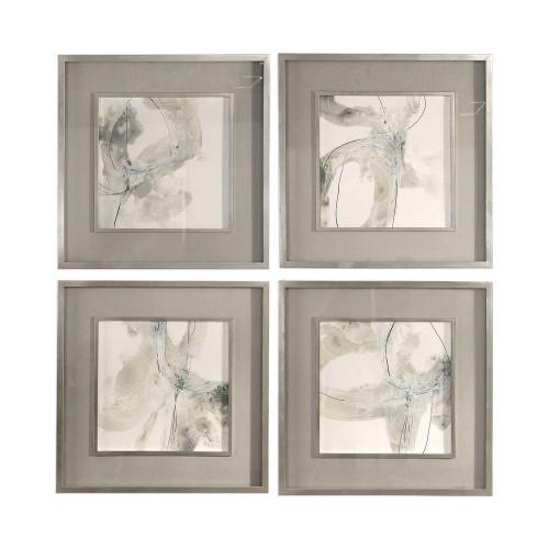 Divination Framed Prints S/4 by Uttermost