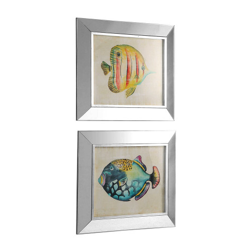 Aquarium Fish Framed Prints S/2