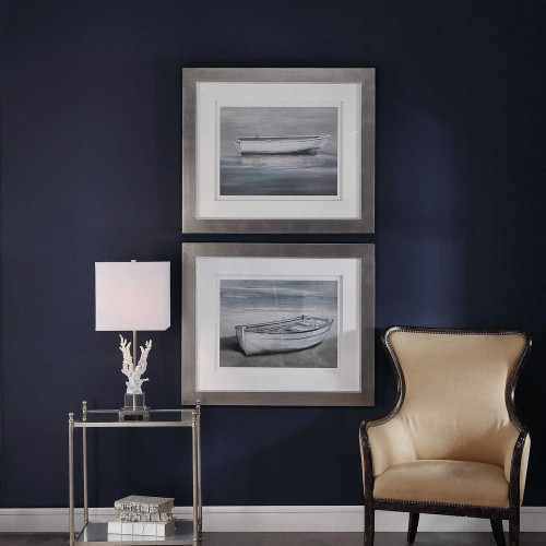 Anchored By The Beach Framed Prints S/2 by Uttermost