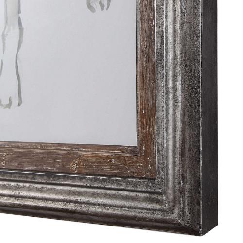 Hounding Around Framed Print