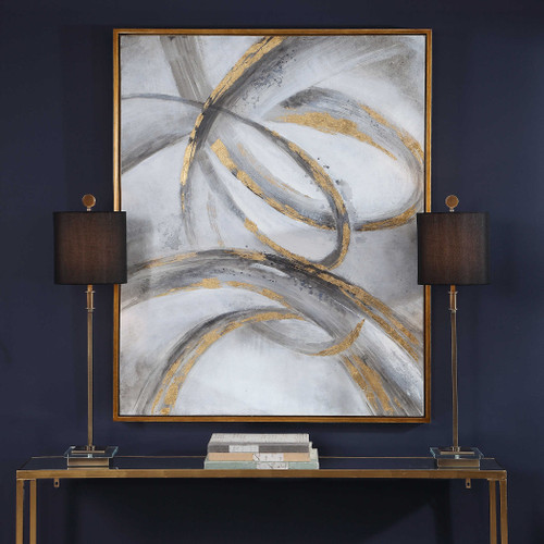 Headlights Hand Painted Canvas by Uttermost