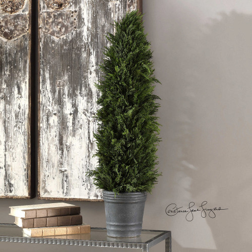 Cypress Cone Topiary by Uttermost
