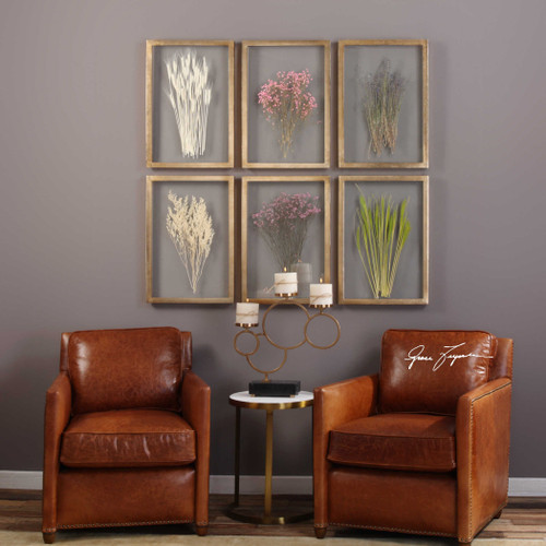 Preserved Blossoms S/6 by Uttermost