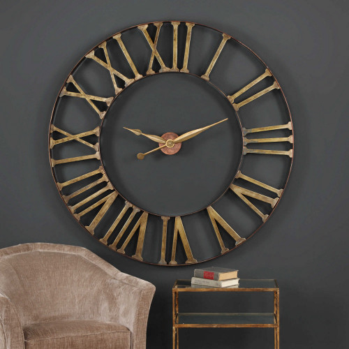 Kaison Wall Clock by Uttermost