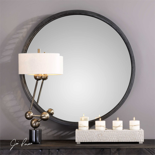 Cecilia Round Mirror - by Uttermost