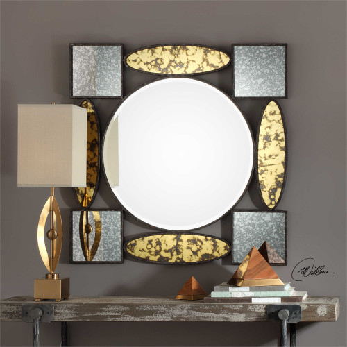 Dervio Square Mirror - by Uttermost