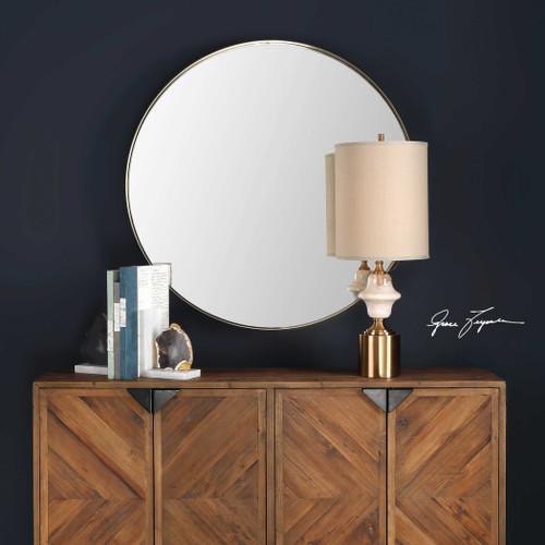 Padria Round Mirror by Uttermost