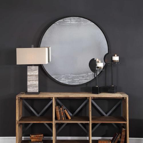 Maddox Round Mirror by Uttermost