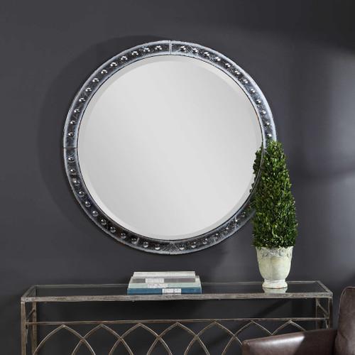 Thacker Round Mirror by Uttermost