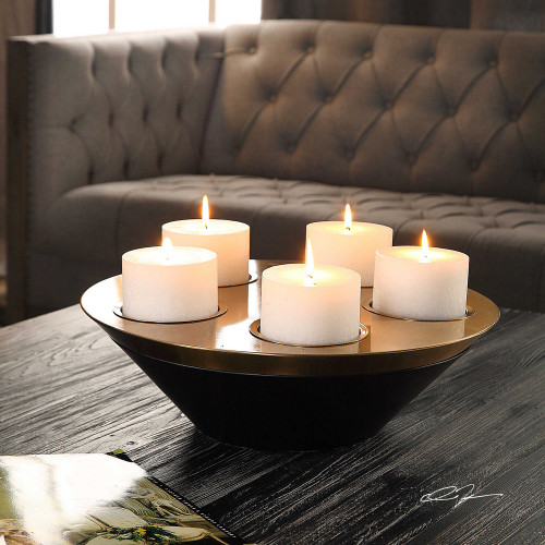Edgar Candleholder by Uttermost