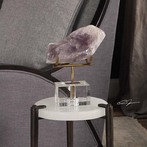 Amethyst Crystal by Uttermost