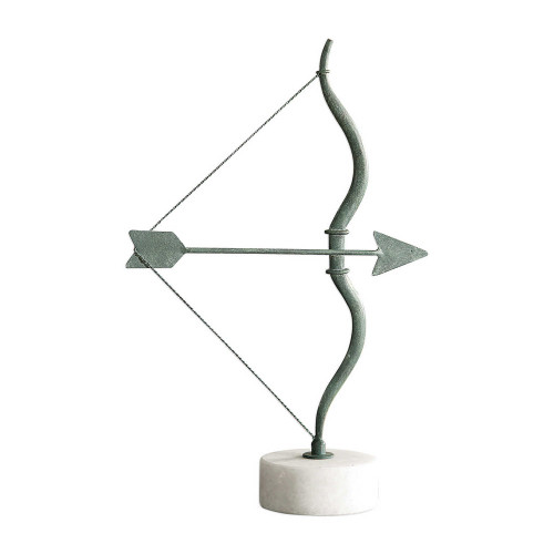 Grecian Bow and Arrow Figurine by Uttermost