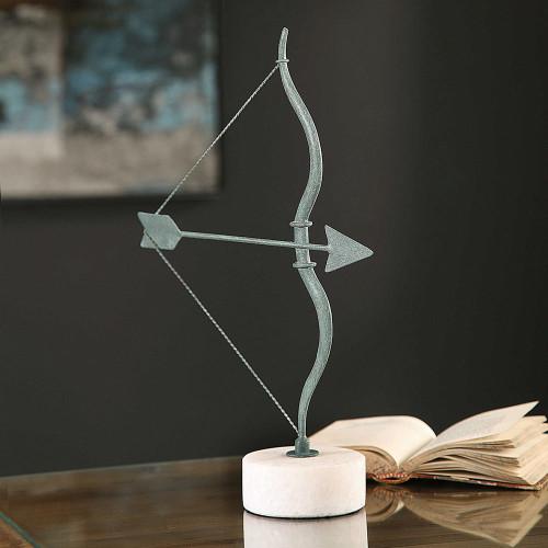 Grecian Bow and Arrow Figurine