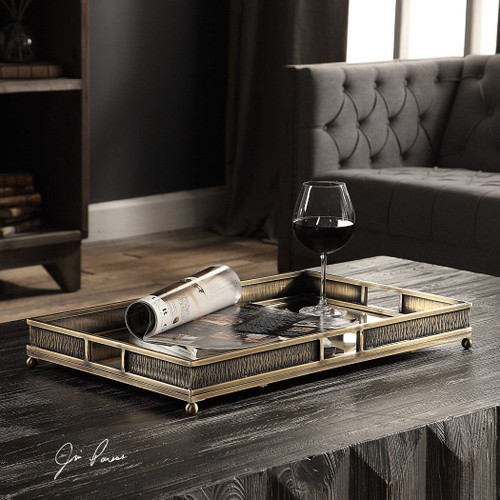 Halvor Tray by Uttermost