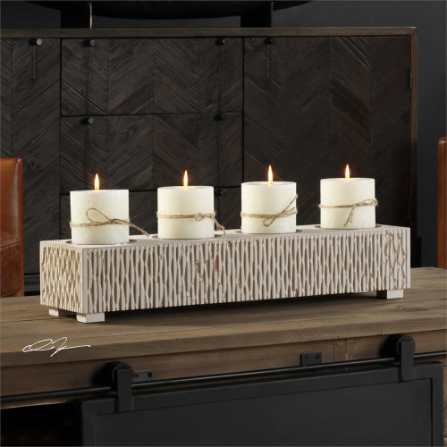Erminia Candleholder - by Uttermost