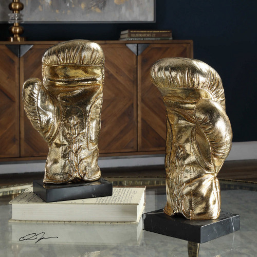 Knockout Sculpture S/2 by Uttermost