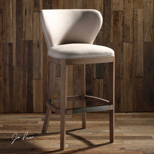 Adiris Bar Stool by Uttermost