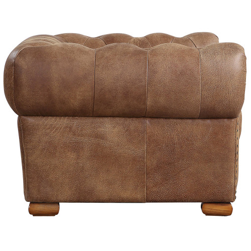 Johnson Leather Lounge Chair