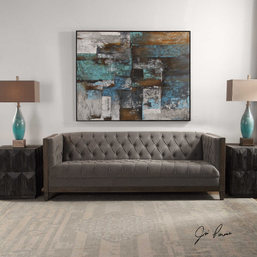 Melado Chesterfield Sofa by Uttermost