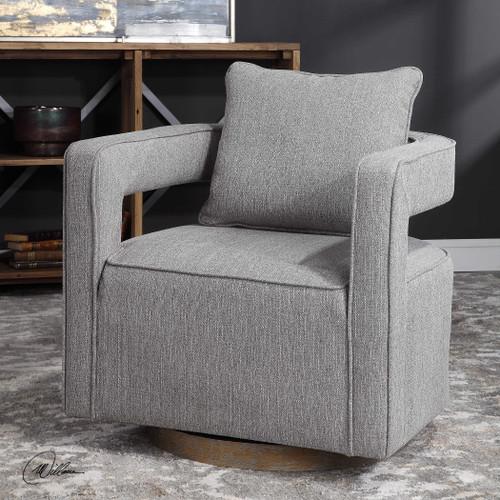 Nixon Swivel Chair by Uttermost