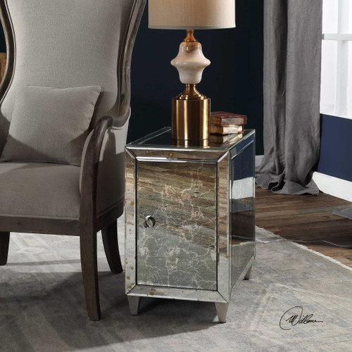 Franette End Table** - by Uttermost