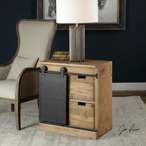 Leandrew End Table by Uttermost