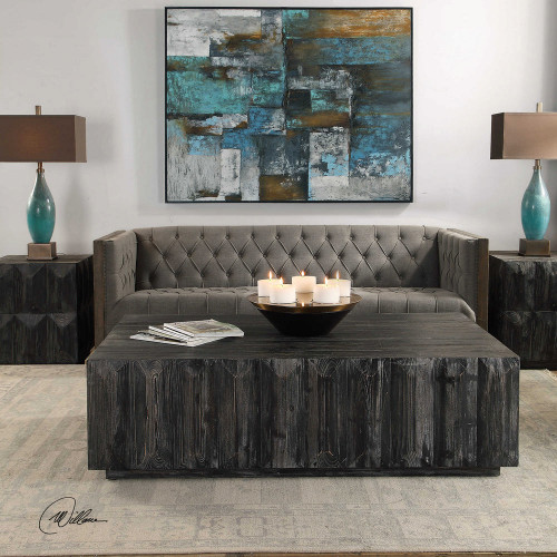 Barlas Coffee Table by Uttermost